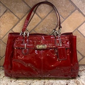 Coach Chelsea Jayden Patent Leather Carryall
